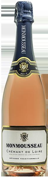Monmousseau Crémant de Loire rosé brut
